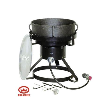 King Kooker Burner 60qt w/Jambalaya Pot