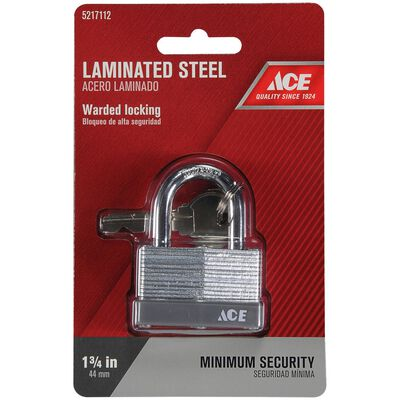 Ace 1-3/4 in. Warded Locking Padlock