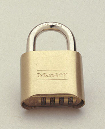 Master Lock 2 in. Double Locking Steel Combination Padlock