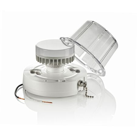 Leviton LED Ceiling Keyless Lampholder With Chain 250 volts 10 watts Clear