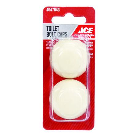 Ace Toilet Bolt Caps Plastic