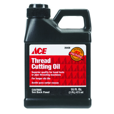 Ace 16 oz. For Use on brass copper aluminum stainless steel iron Thread Cutting Oil