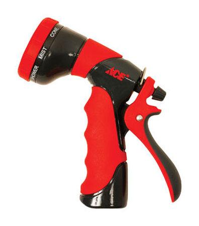 Ace 8 pattern Adjustable Hose Nozzle Die-Cast Zinc