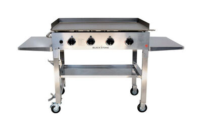 Blackstone Stainless Steel 4 burners Liquid Propane-LP Outdoor Griddle