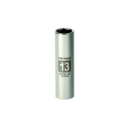 Craftsman 13 mm x 3/8 in. drive Metric 6 Point Deep Socket 1 pc.