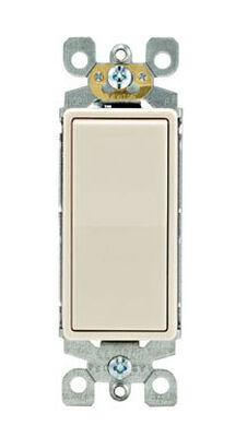 Leviton Decora 15 amps Rocker Switch Single Pole 10 pk