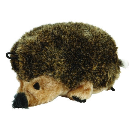 Aspen Pet Synthetic Hedgehog Squeak Dog Toy Large