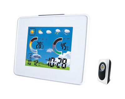 Taylor Digital Thermometer 5.25 in. Wireless Weather Station with Barometer