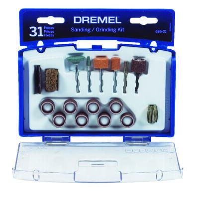 Dremel Aluminum Sanding and Grinding Kit 31 pk