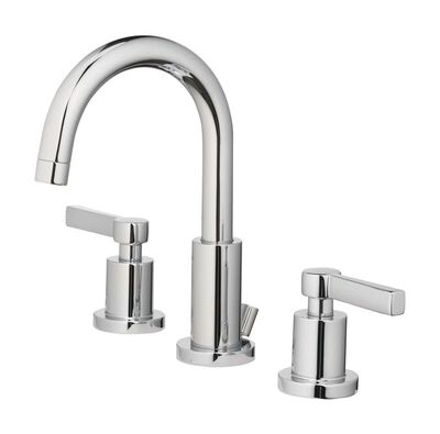 OakBrook Modena Widespread Lavatory Pop-Up Faucet 8 in. Chrome