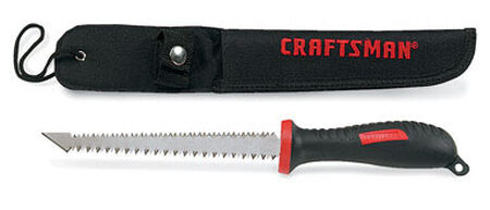 Craftsman Double Edge Pull Saw 6 in. L Rubber Handle
