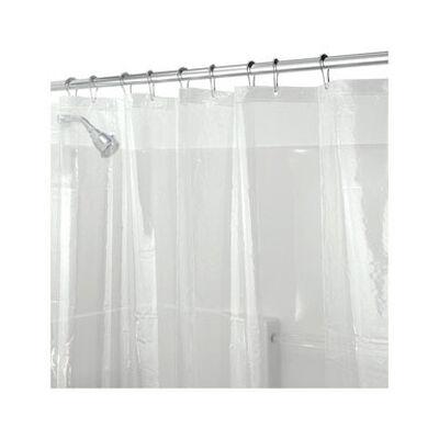 InterDesign 72 in. H x 72 in. L Clear Shower Curtain Liner