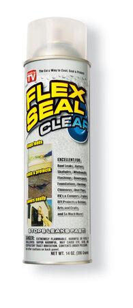 Flex Seal Satin Clear Rubber Spray Sealant 14 oz.