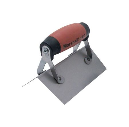 Marshalltown Spring Steel Outside Corner Trowel 6 in. L x 2-1/2 in. W