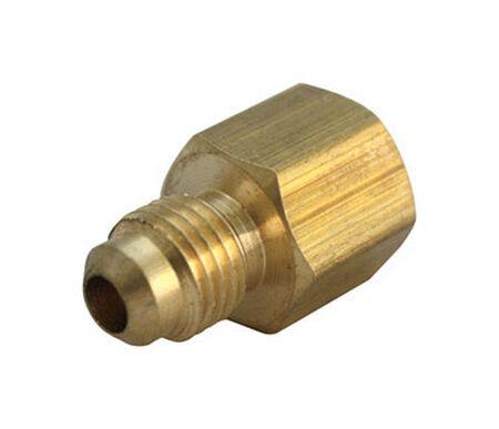 B & K 1/2 in. Flare x 3/4 in. Dia. Female Brass Flare Adapter