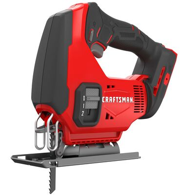 Craftsman 20V MAX 11/16 in. Cordless Keyless Jig Saw 20 volt 2500 spm U and T Shank