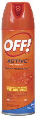 OFF! Insect Repellent DEET 15% Aerosol 6 oz.