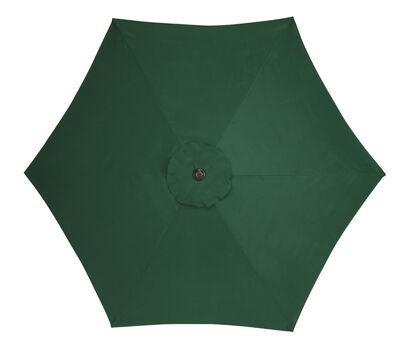 Living Accents 9 ft. Dia. Tiltable Patio Umbrella Green