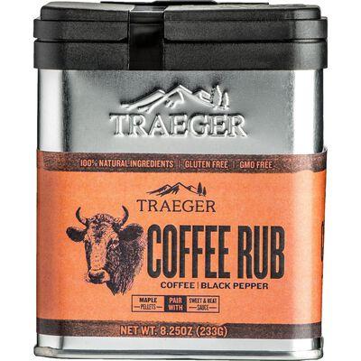 Traeger Coffee and Black Pepper Seasoning Rub 8.25 oz.