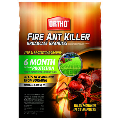 Ortho Broadcast Granules Fire Ant Killer 11.5 lb.