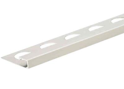 Satin Silver 3/8 in. Aluminum Q-Shape Tile Edging Trim
