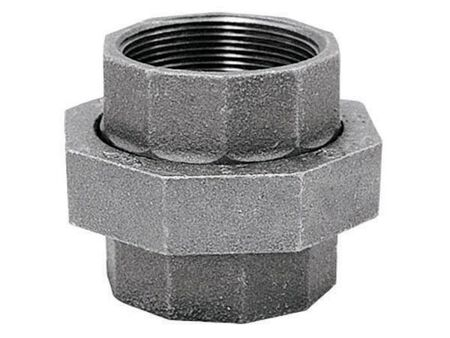 B & K 2 in. Dia. x 2 in. Dia. FPT To FPT Galvanized Malleable Iron Union