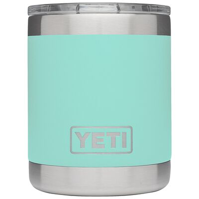 YETI Rambler Lowball Stainless Steel Insulated Tumbler Seafoam 10 oz. 1 pk