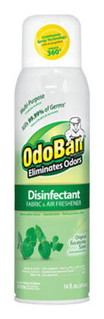 OdoBan 14 oz. Eucalyptus Scent Disinfectant Fabric & Air Freshener