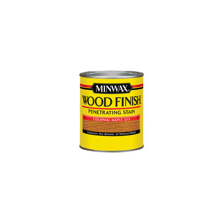 Minwax Wood Finish Semi-Transparent Colonial Maple Oil-Based Wood Stain 0.5 pt.