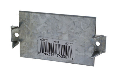 Simpson Strong-Tie 3 in. H Galvanized Steel Galvanized 100 Nail Stop