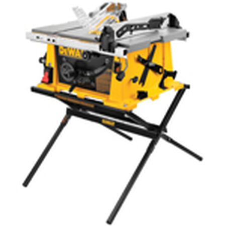 "10"" Job Site Table saw with Scissor Stand"
