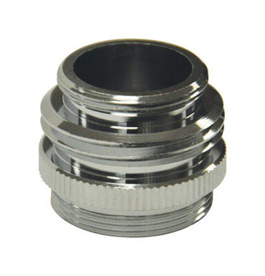 Danco Garden Hose Aerator Adapter 3/4in. GHTM x 15/16in. - 27M or 5/64in. - 27F Chrome