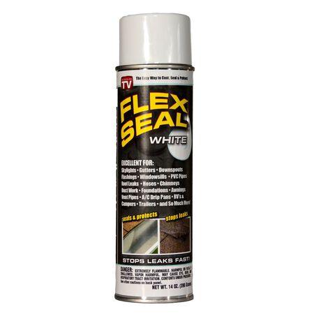 Flex Seal Rubber Spray Sealant 14 oz. White Spray Can