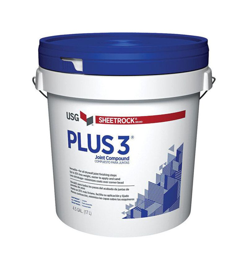 Sheetrock Plus 3 Light Weight Joint Compound 4 5 Gal Sand