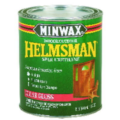 Minwax Helmsman Indoor and Outdoor Clear Gloss Spar Urethane 1 qt.