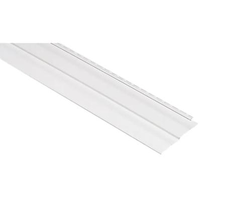 "Georgia-Pacific Vision Pro Vinyl Siding Panel Double 5 Dutch Lap White 10"" x 144"""