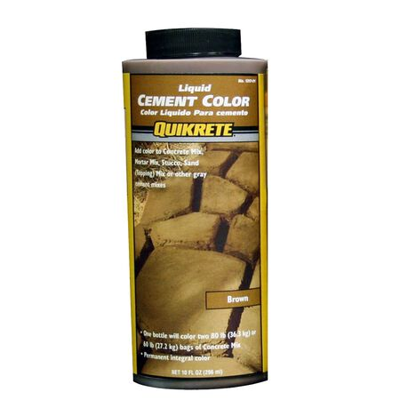 Quikrete 10 oz. Liquid Cement Color Brown