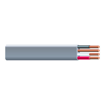 Southwire 50 ft. 10/3 Type UF-B WG Underground Feeder Cable Gray