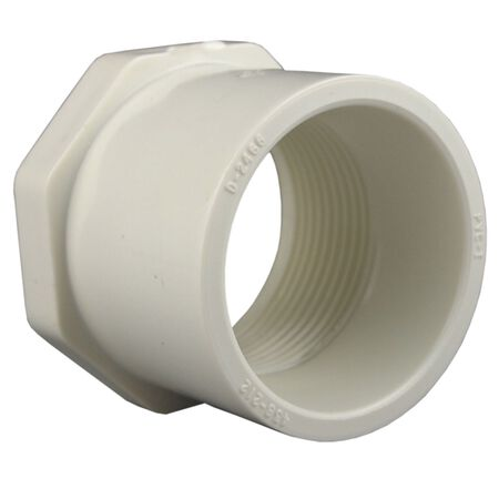 Charlotte Pipe Schedule 40 1-1/4 in. Dia. x 1 in. Dia. FPT To Spigot PVC Reducing Bushing