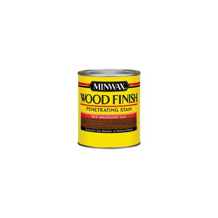 Minwax Wood Finish Transparent Oil-Based Wood Stain Red Mahogany 1/2 pt.