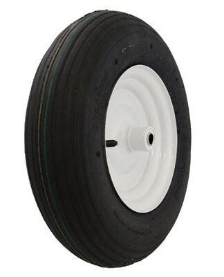 Marathon Wheelbarrow Tire 16 in. Dia. 500 lb. Plastic