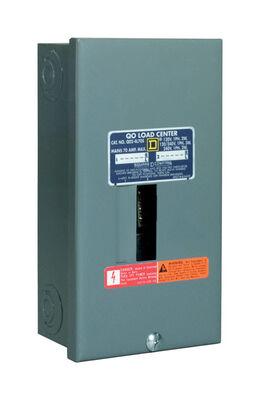 Square D QO 30 amps 2 space 2 circuits 120/240 volts Plug-In Main Lug Main Lug Load Center