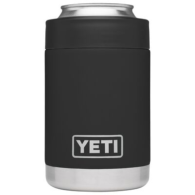 YETI Rambler Colster Stainless Steel Black Beverage Holder 1 pk