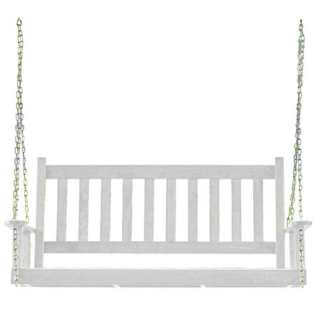 "Swing UG Porch 54"" White"