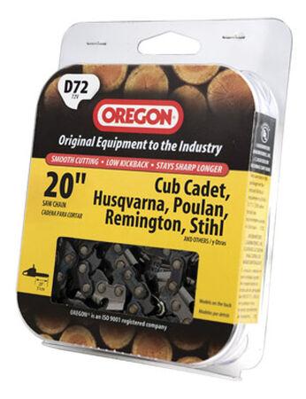 Oregon Chainsaw Chain 72 links 20 in. For Cub Cadet Husqvarna Poulan Remington Stihl 72V