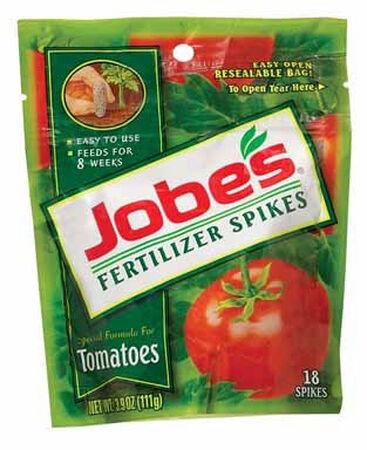 Jobe's Fertilizer Spikes For Tomato Plants 18 pk