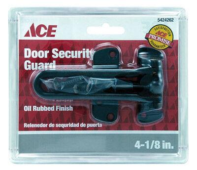 Ace Chain Door Guard 4-1/8 in. Oil Rubbed Bronze For Exterior Doors