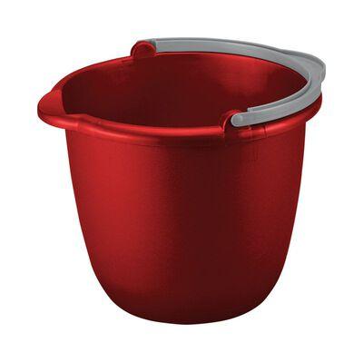 Sterilite 10 qt. Bucket Red