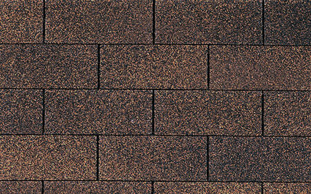 Roof Supreme 3 tab Brown wood