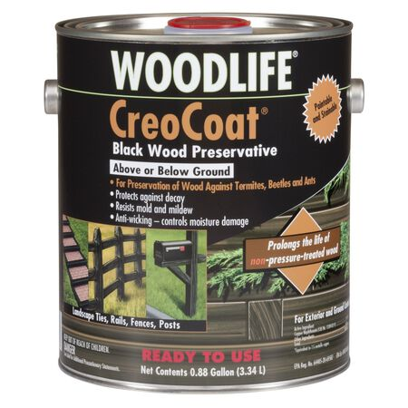 Woodlife CreoCoat Water-Based Wood Preservative Black .88 gal.